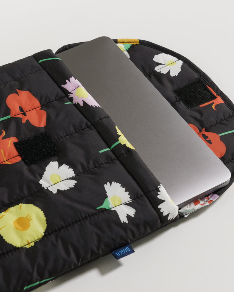 BAGGU Laptop Sleeves  Claire Nereim - Plant Planet - Hand drawn botanical print