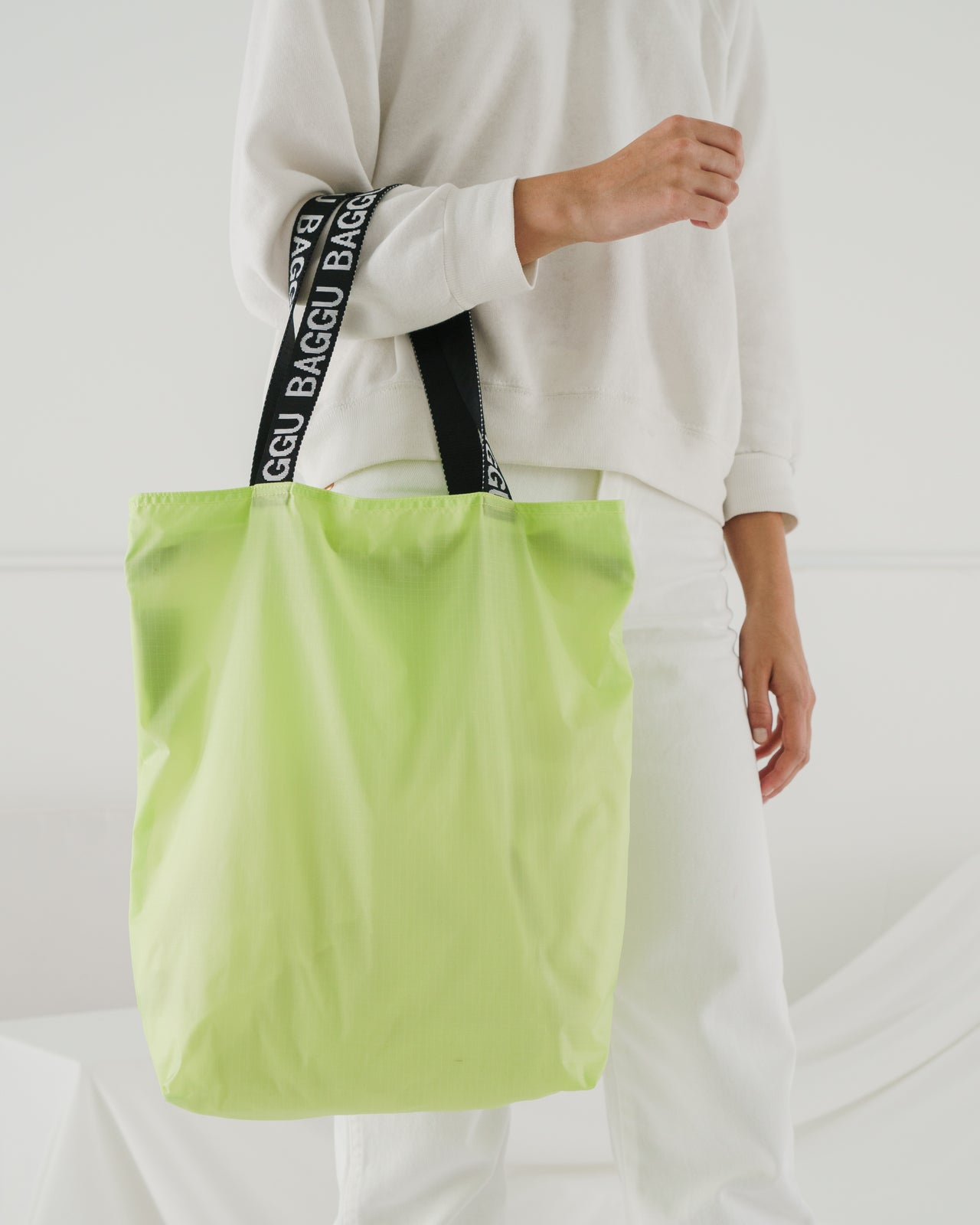 Ripstop Tote - Lime