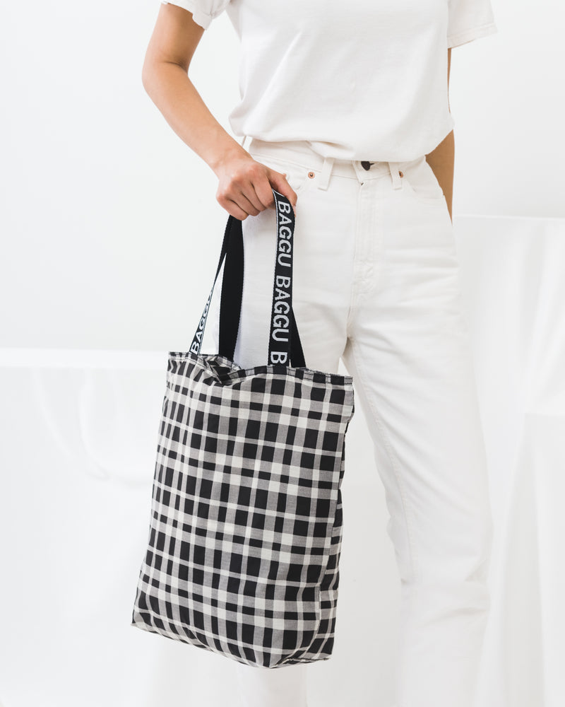 Ripstop Tote - Plaid