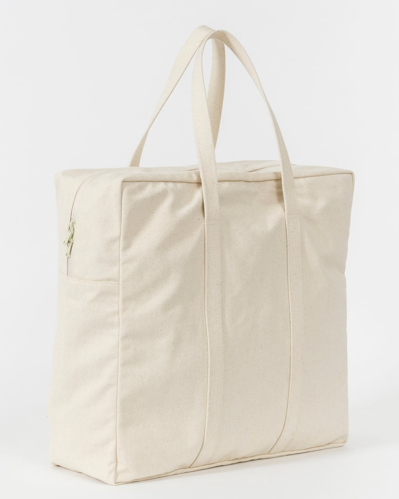 large canvas tote travel bag