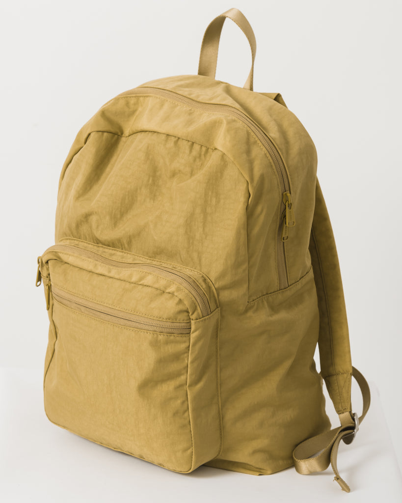 School Backpack - Ochre