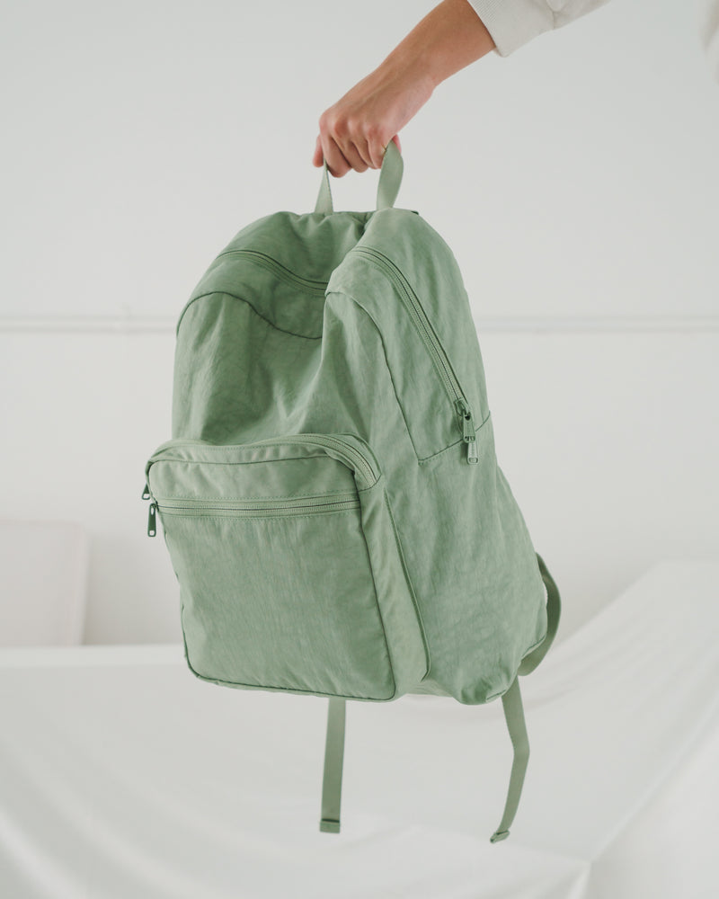 School Backpack - Sage