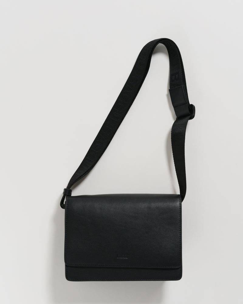 BAGGU Cross Body Small Block Purse - Black