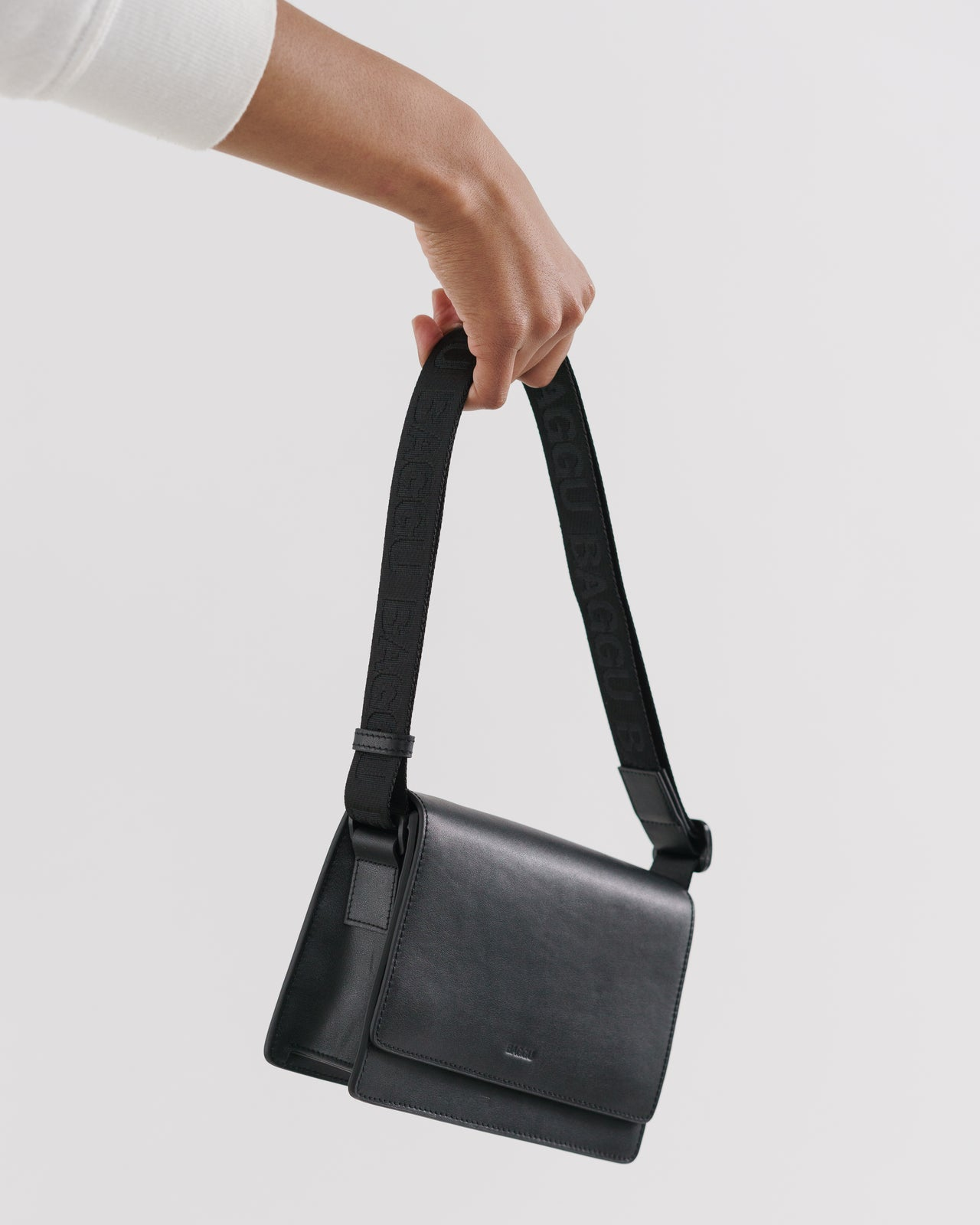 Small Block Purse - Black