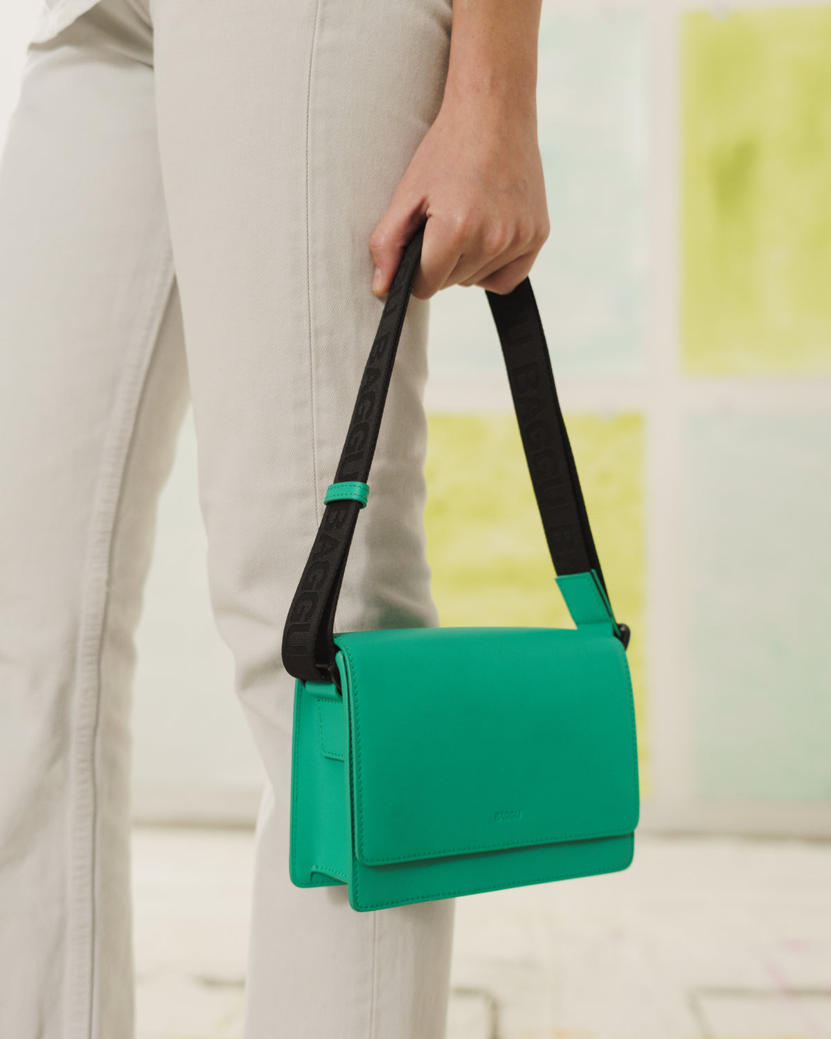 Small Block Purse - Jade