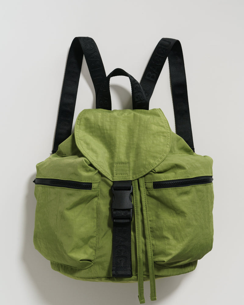 BAGGU Backpacks Small Sport Backpack - Green Apple