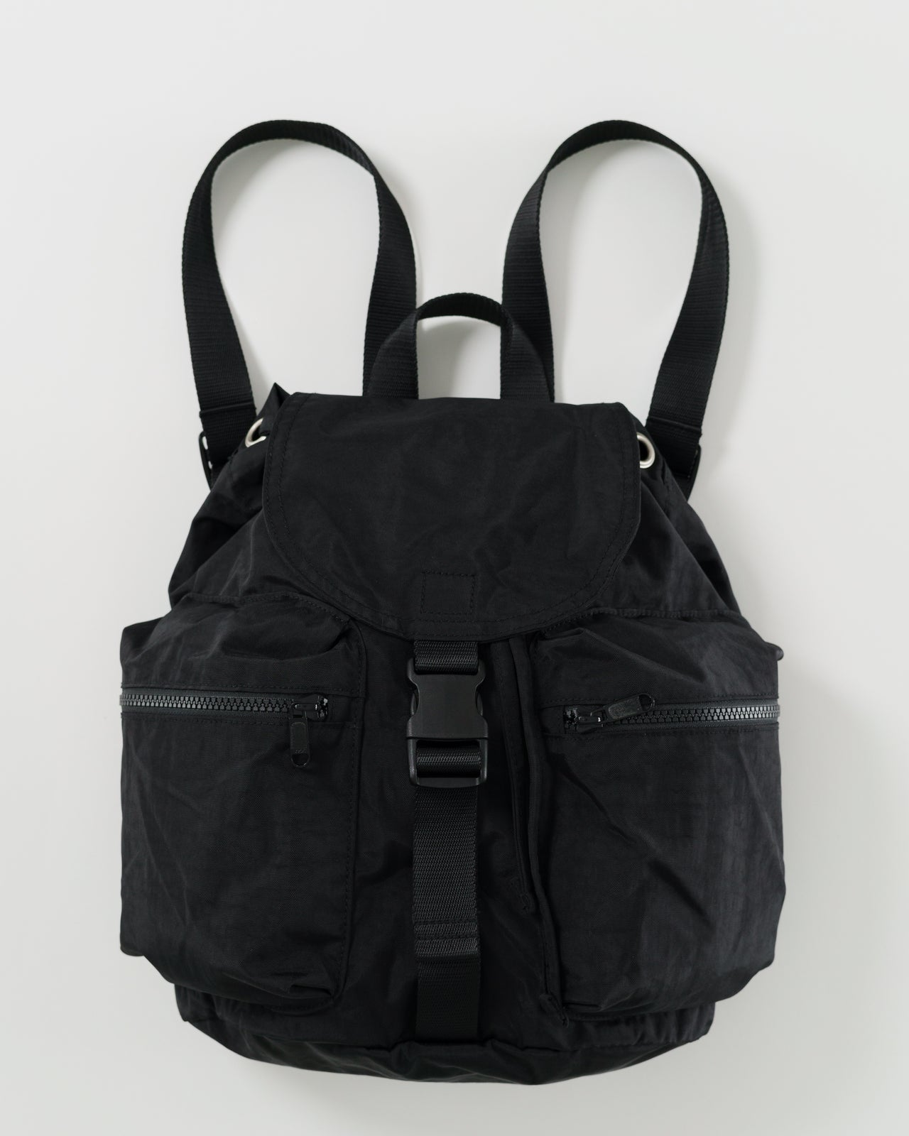 Small Sport Backpack - Solid Black