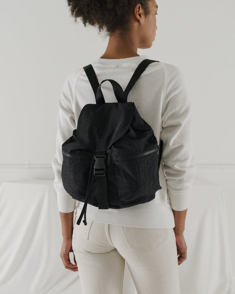 BAGGU Sale Small Sport Backpack - Solid Black