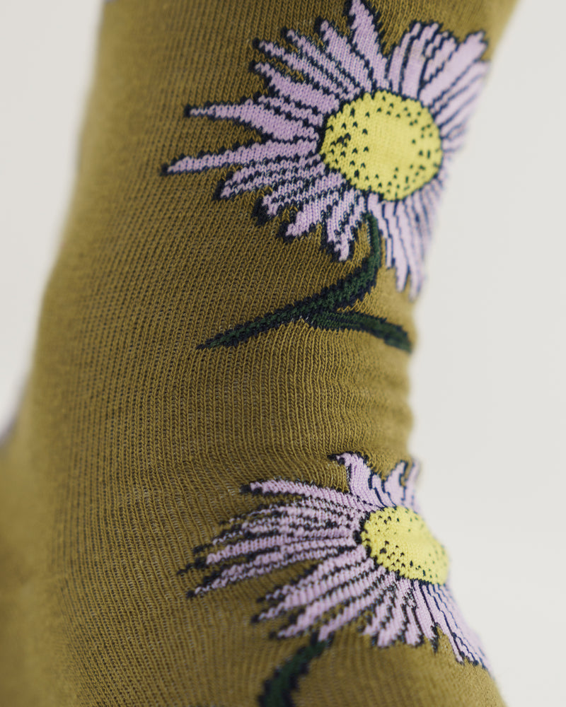 Crew Sock - Daisy Chain