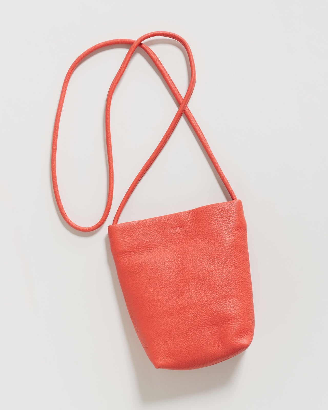 Soft Crossbody Purse - Vermilion