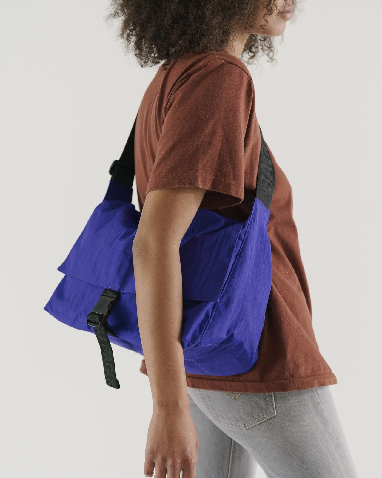 Sport Messenger Bag - Cobalt