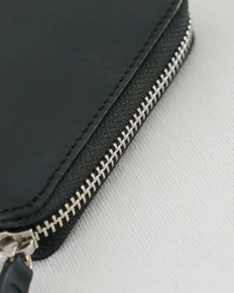 Square Wallet - Black