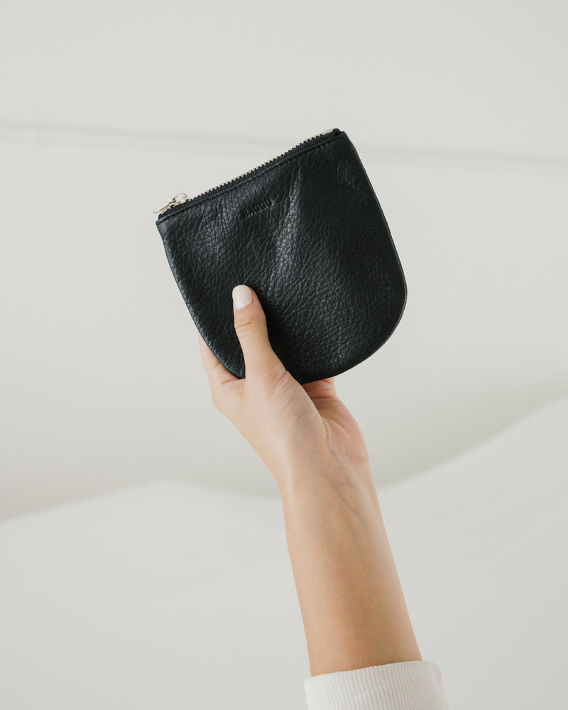 Small U Pouch - Black