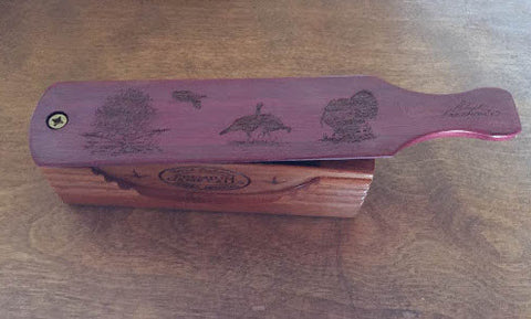 Purple Heart Mahogany Box Call