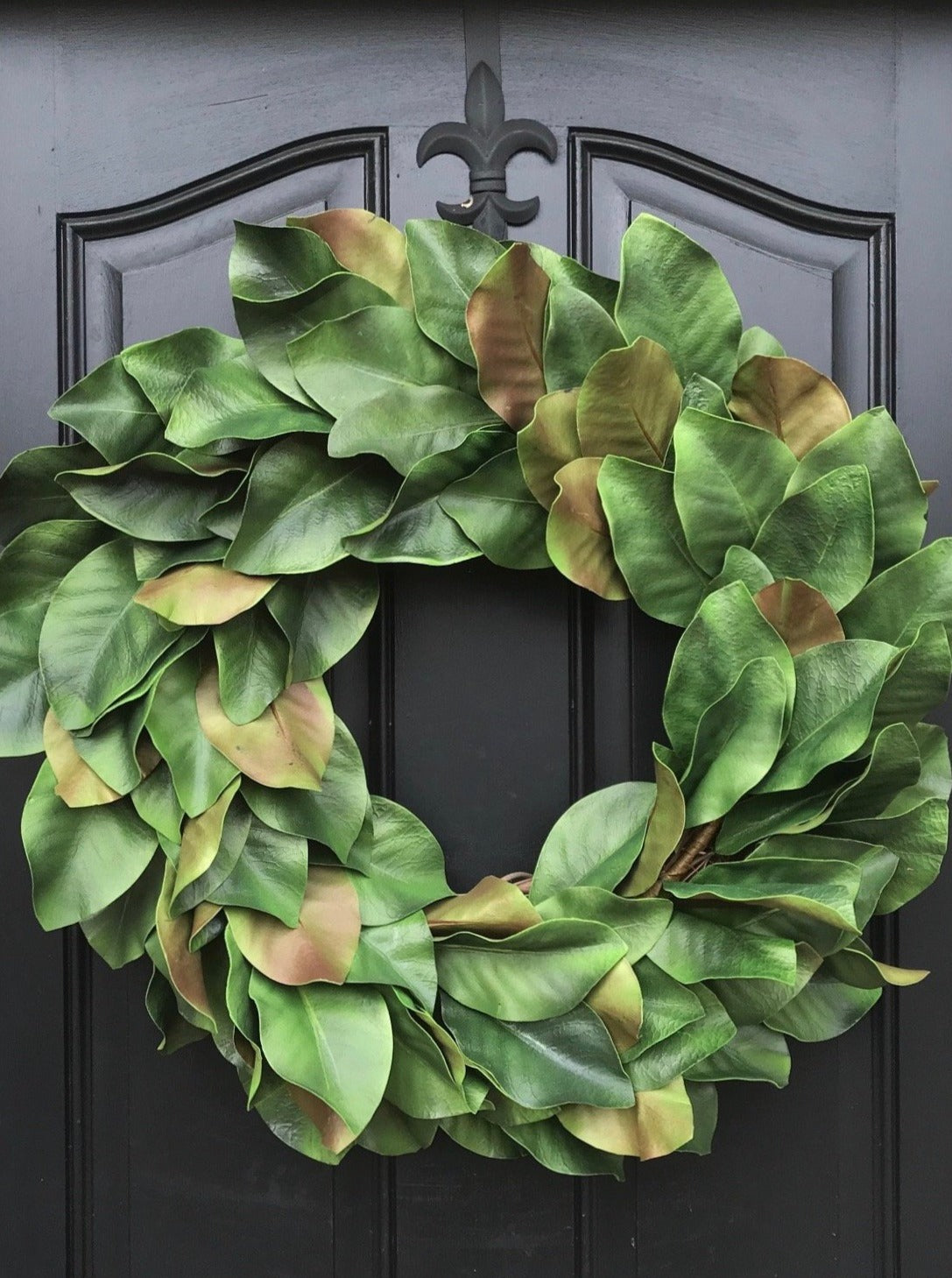Magnolia Leaf Wreath - TwoInspireYou