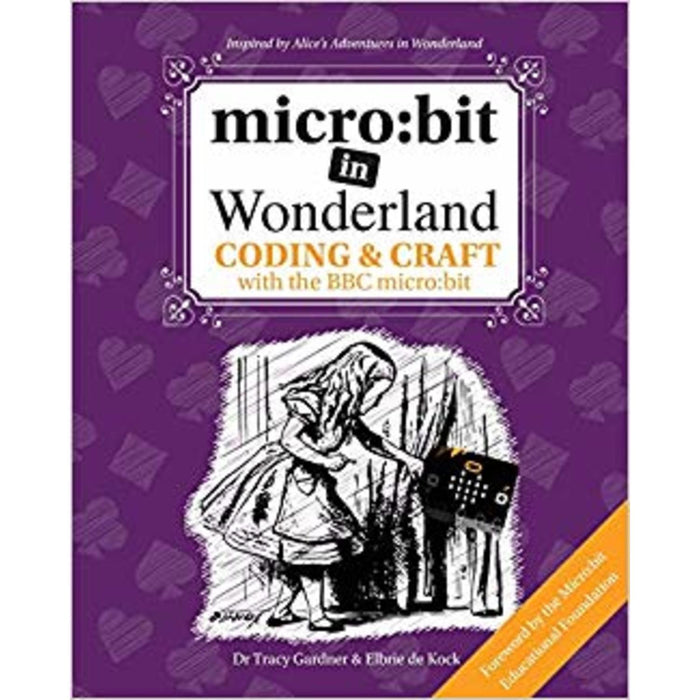 micro:bit in Wonderland book