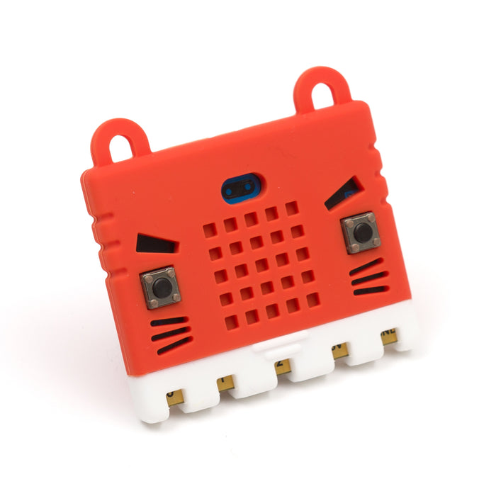 Micro:bit Rubber Case in Red