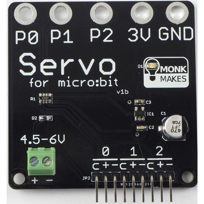 Servo for Micro:bit by Monk Makes