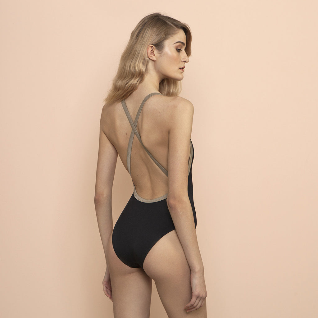 Isadora Swimsuit Black