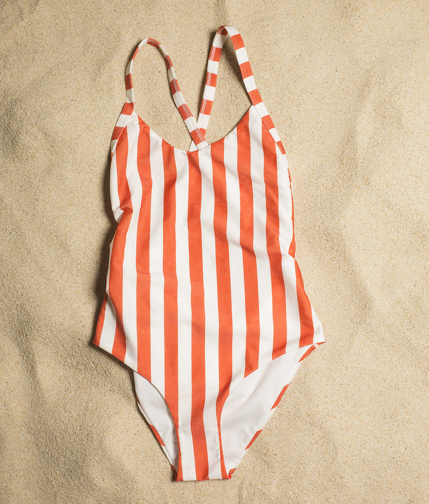 Isadora Swimsuit Stripes