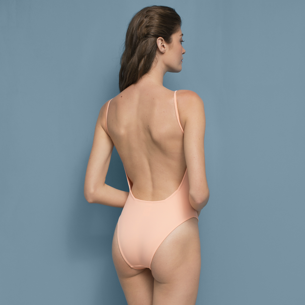 Lydia Swimsuit Peach Pink