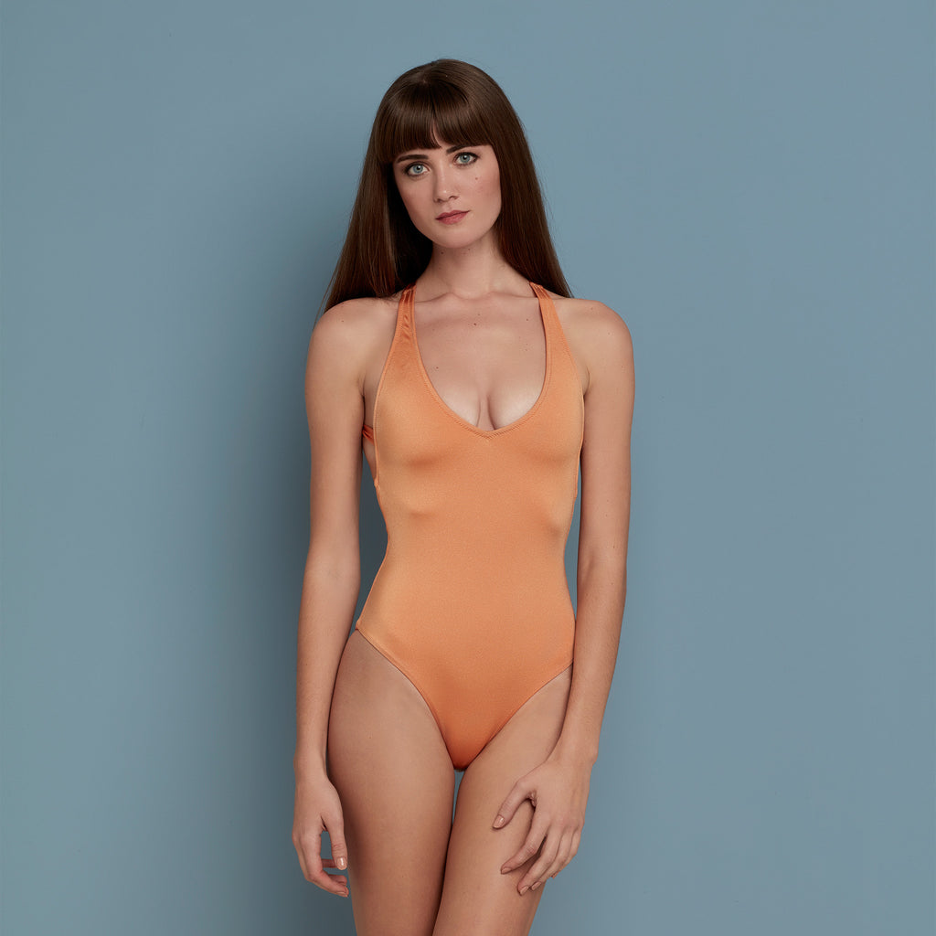 Martha Swimsuit Peach