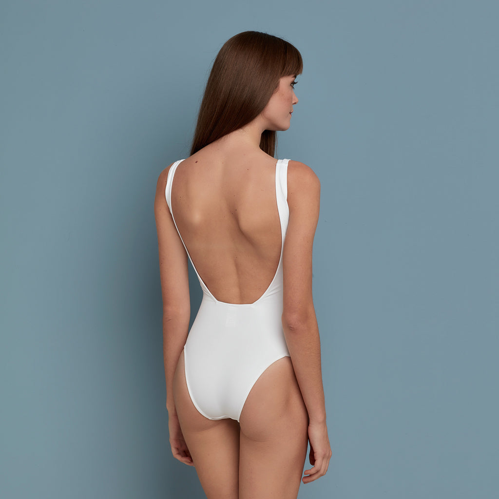Medora Swimsuit White