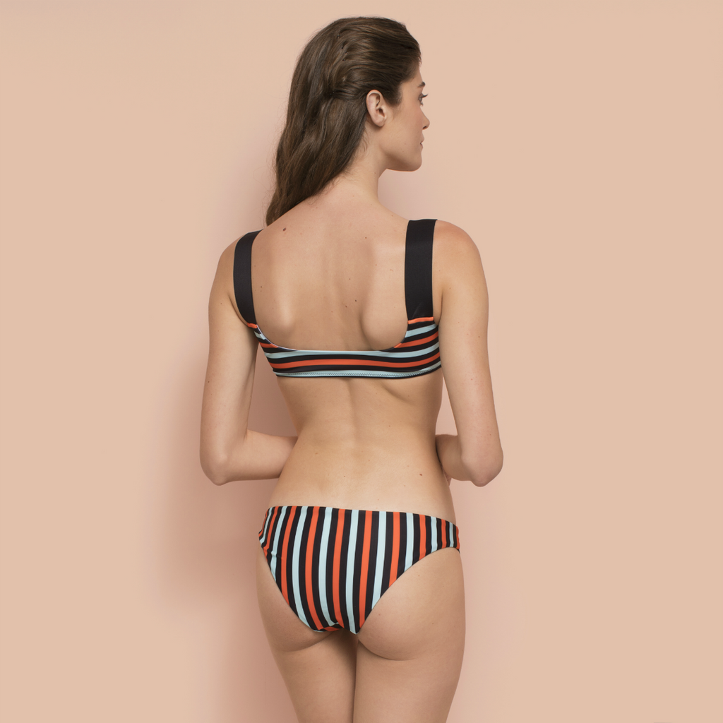 Miyako Bikini Top Striped