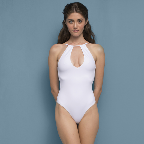 Pati Swimsuit White