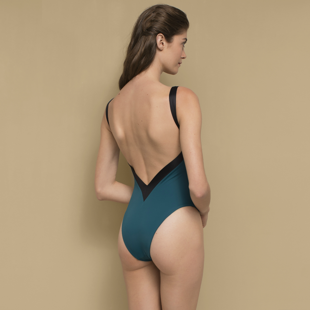 Rosina Swimsuit Emerald Green