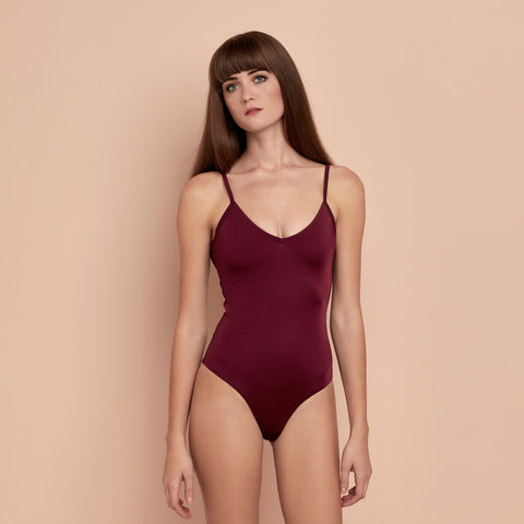 Tamara Swimsuit Maroon