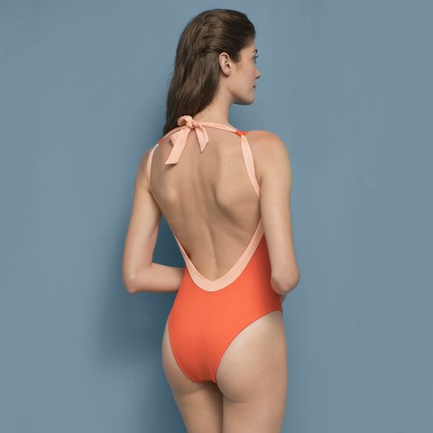 Violetta Swimsuit Orange