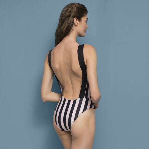 Wendy Swimsuit Striped