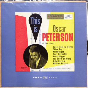 This is Oscar Peterson at the Piano