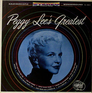 Peggy Lee's Greatest