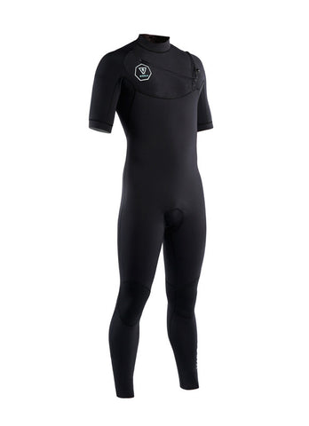 VISSLA 7 SEAS - 2/2 SS Fullsuit - Black with Silver