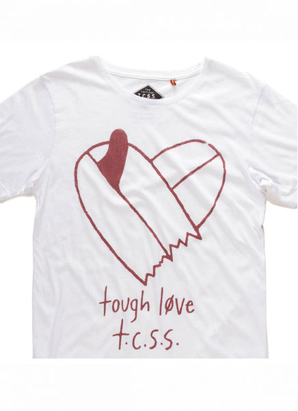 TCSS Tough Love Tee - Blanc