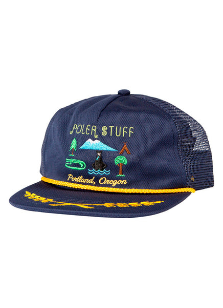 Tourist Trap Mesh Trucker