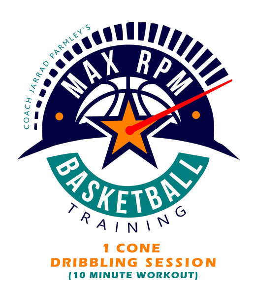 MaxRPM 1 Cone Dribbling Workout