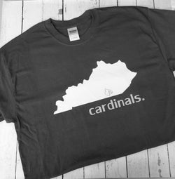 Cardinals State Logo Shirt --All teams available