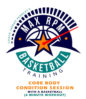 MaxRPM Core Body Workout with a Basketball