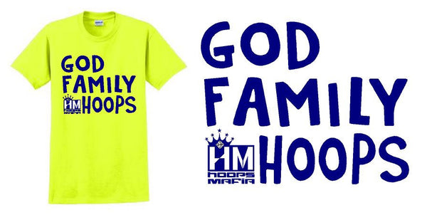 GOD FAMILY HOOPS T-Shirt and Long Sleeve T.