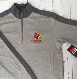 Wayne County Cardinals Nike Polo Or 1/4 zip Pullover