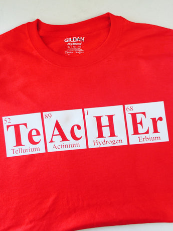 Teacher Periodic Table T-Shirt