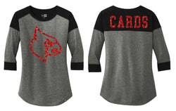 Wayne County CARDS New Era Raglan