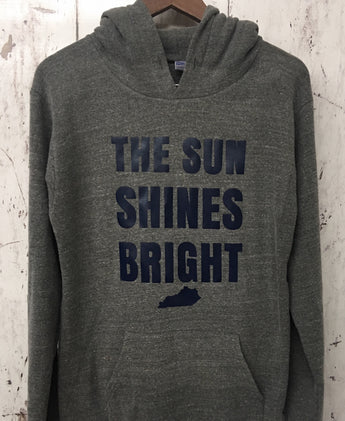 Sun Shines Bright Triblend Hoodie