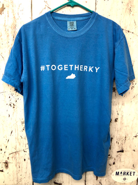 Team Kentucky #TogetherKY Dye Pigment T-Shirt
