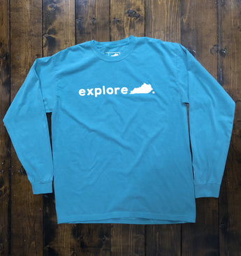 Explore Kentucky Long Sleeve T-Shirt