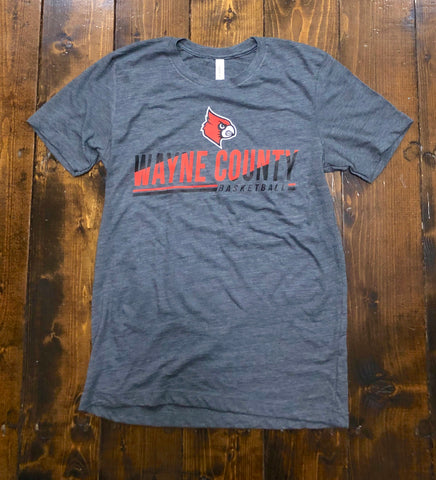 Wayne County Basketball Triblend T-Shirt