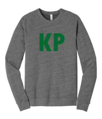 Kentucky Premier Triblend Crewneck with Stitched Style Letters